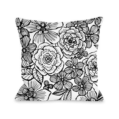 Rue Throw Pillow Size: 18 H x 18 W x 3 D