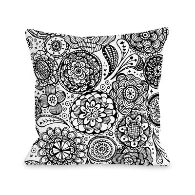 Emma Throw Pillow Size: 16 H x 16 W x 3 D
