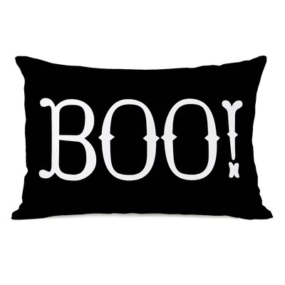 Boo! Lumbar Pillow