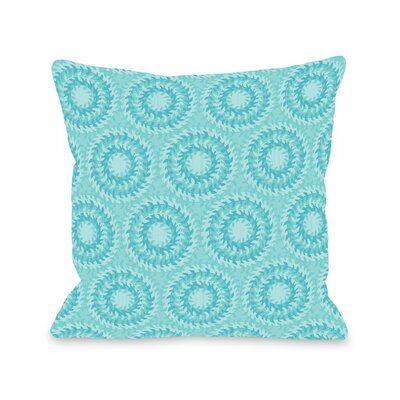 Swirls Throw Pillow Size: 18 H x 18 W x 3 D