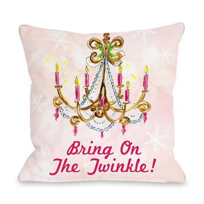 Bring On The Twinkle Throw Pillow