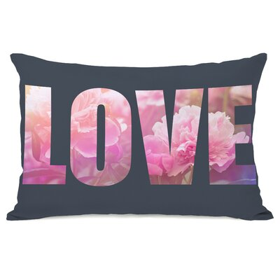 Flowery Love Lumbar Pillow