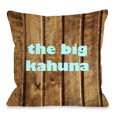 The Big Kahuna Throw Pillow