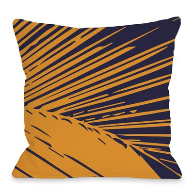 Alaiya Palm Leave Throw Pillow