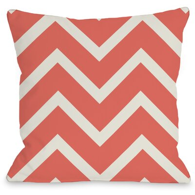 Sophia Chevron Throw Pillow Size: 16 H x 16 W x 3 D