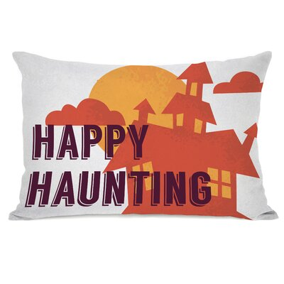 Happy Haunting Lumbar Pillow