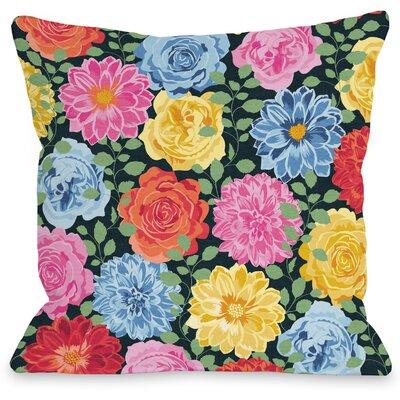 Botanica 309 Throw Pillow Size: 16 H x 16 W x 3 D