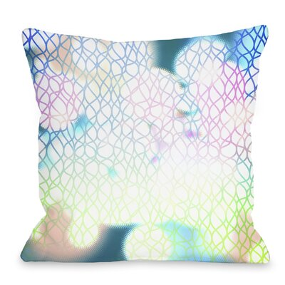 Swirlathon Throw Pillow Size: 18 H x 18 W x 3 D