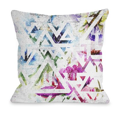 Garden State Throw Pillow Size: 16 H x 16 W x 3 D