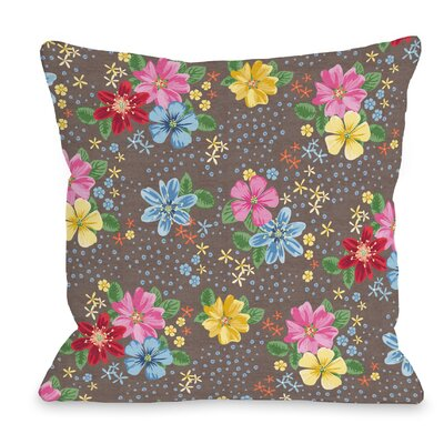 Botanica 310 Throw Pillow Size: 16 H x 16 W x 3 D
