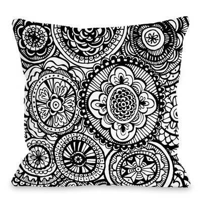 Bella Throw Pillow Size: 16 H x 16 W x 3 D
