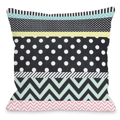 Multis Throw Pillow Size: 18 H x 18 W x 3 D