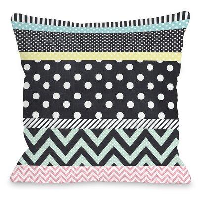 Multis Throw Pillow Size: 16 H x 16 W x 3 D
