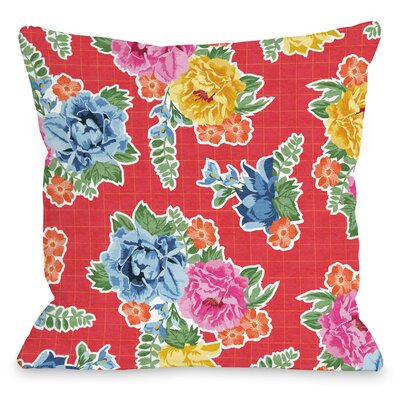 Botanica 308 Throw Pillow Size: 18 H x 18 W x 3 D