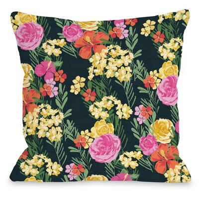 Botanica 311 Throw Pillow Size: 16