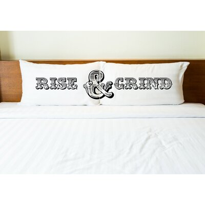 Better Together 2 Piece Rise and Grind Pillow Case Set