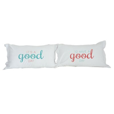 Good Day 2 Piece Pillowcase Set