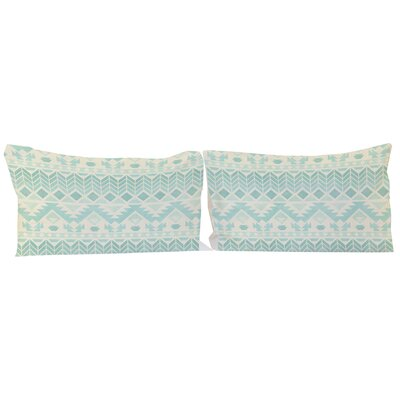 Faded 2 Piece Aztec Pillowcase Set