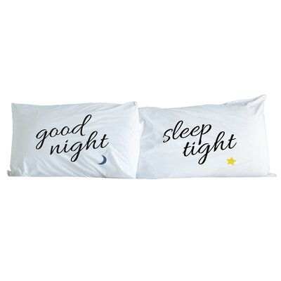 Goodnight Moon Star 2 Piece Pillowcase Set