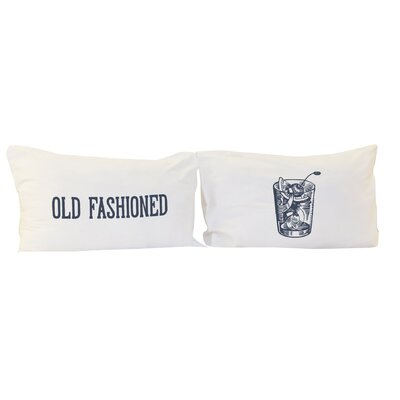 Old Fashioned 2 Piece Pillowcase Set