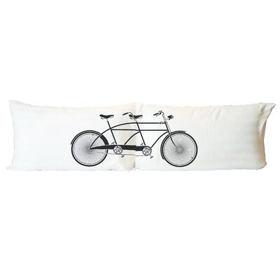 Tandem Bike 2 Piece Pillowcase Set
