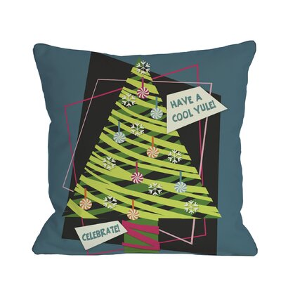 Cool Yule Throw Pillow