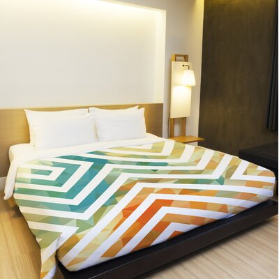 Mila Duvet Cover Size: King