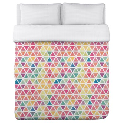 Watercolor Geometric Duvet Cover