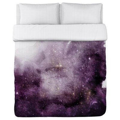 Galaxy Dreams Fleece Duvet Cover Size: King