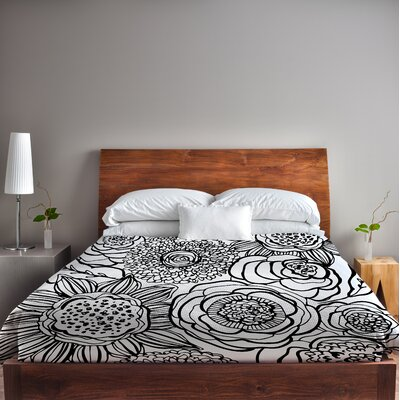 Primrose Duvet Cover Size: King