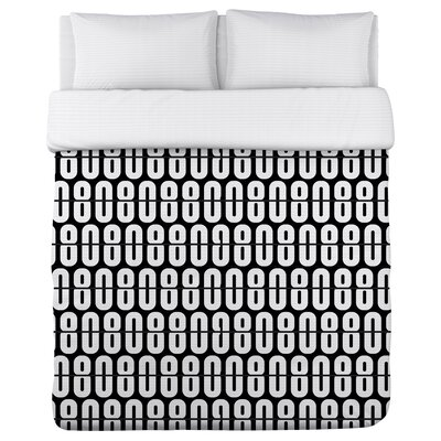 808 Beats Fleece Duvet Cover Size: Full / Queen