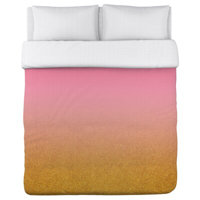 Bailey Fleece Duvet Cover Size: Full / Queen