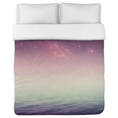 Stella Fleece Duvet Cover Size: King