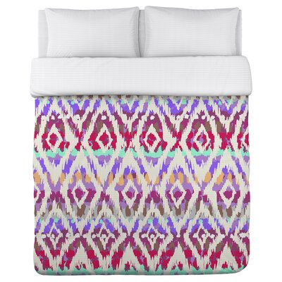 Wild Child Fleece Duvet Cover Size: King