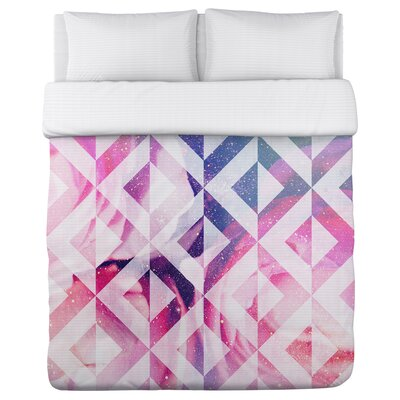 Supernova Fleece Duvet Cover Size: Full / Queen