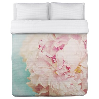 Delicate Peony Duvet Cover