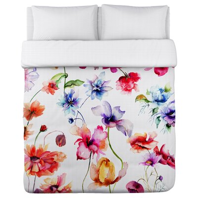 Belles Filles Watercolor Duvet Cover