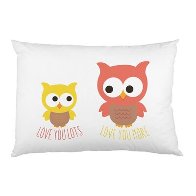 Motherly Love Owls Pillow Case