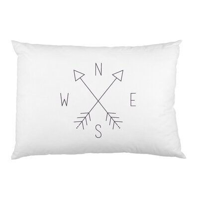Compass Arrows Pillow Case