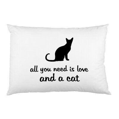 Love and Cats Pillow Case