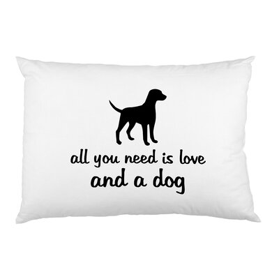 Love and Dogs Pillow Case