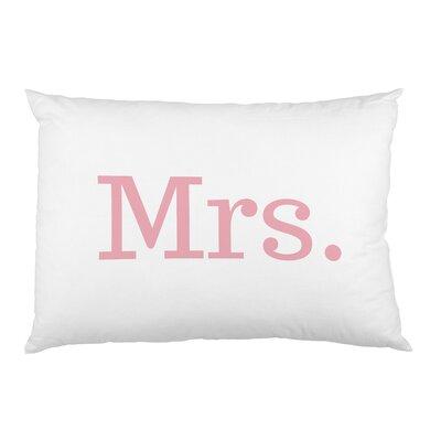 Mrs Pillow Case