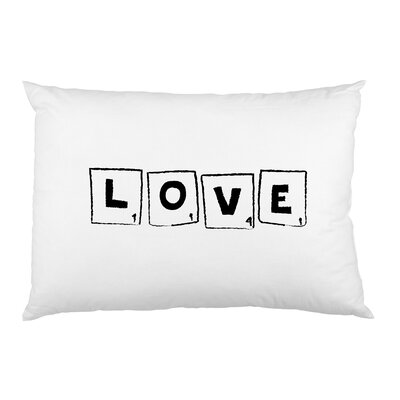 Scrabble Love Pillow Case
