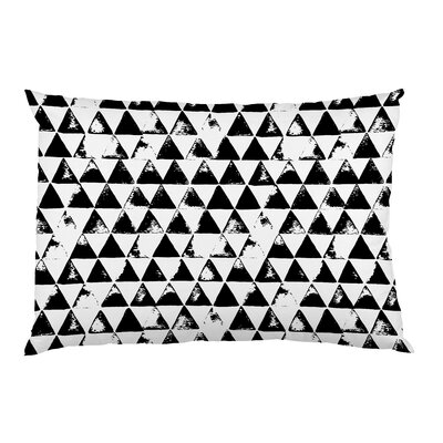 Distressed Triangles Pillow Case