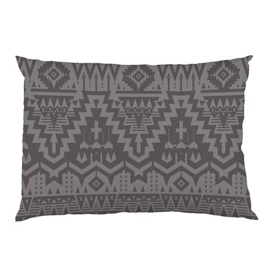 Tribal Zigzags Fleece Standard Pillow Case