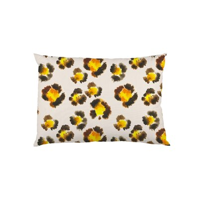 Leopard Spots Watercolor Pillow Case