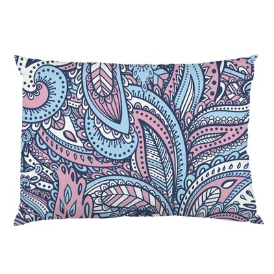 Swirly Paisley Fleece Standard Pillow Case