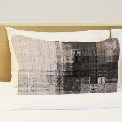 Tiled Monochrome Fleece Standard Pillow Case