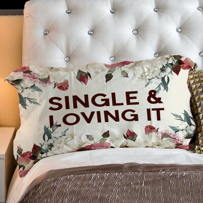 Single Loving It Fleece Standard Pillow Case