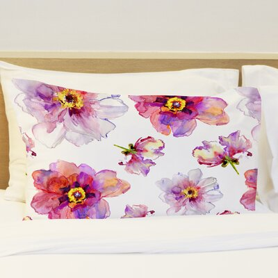 Daisy Days Fleece Standard Pillow Case